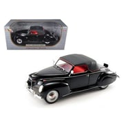 Signature Models 1939 Lincoln Zephyr Black 1-18 Diecast Model Car (Dtdp951)