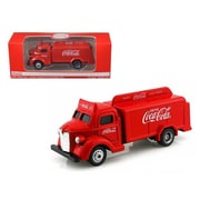 Motorcity Classics 1947 Coca Cola Delivery Bottle Truck Red 1 87 Diecast Model (Dtdp2517)