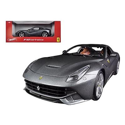 Hot Wheels Ferrari F12 Berlinetta Grey 1-18