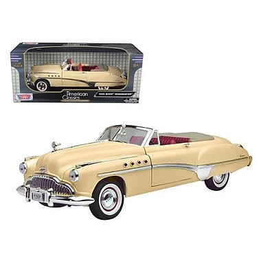 Motormax 1949 Buick Roadmaster Cream 1-18 Diecast Model Car (Dtdp415)