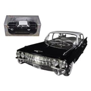 Signature Models 1961 Cadillac Sedan De Ville Eldorado Black 1-32 Diecast Car Model (Dtdp895)