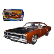 Jada Doms 1970 Plymouth Road Runner Copper Fast & Furious 7 Movie 1-24 Diecast Model Car (Dtdp1619)
