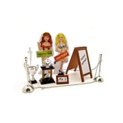 Kinsfun Car Show Trophy Set For 1-24 Scale Model Cars (Dtdp2685)