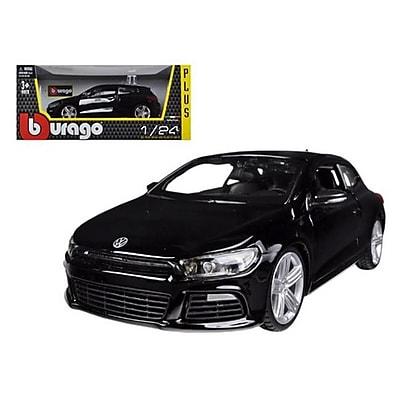 Bburago Volkswagen Scirocco R Black 1-24 Diecast