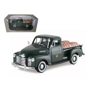 Signature Models 1950 Chevrolet Pickup Truck Green With Barrels Willamette Valley Winery 1-32 Diecast Model Car (Dtdp996)