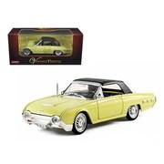 Arko 1962 Ford Thunderbird Yellow 1-32 Diecast Car Model (Dtdp943)