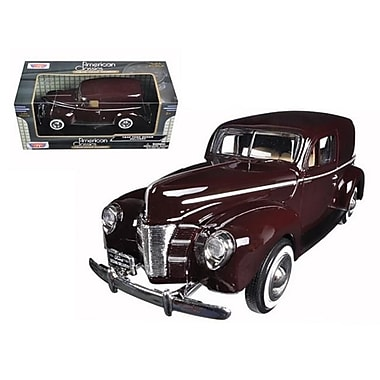 Motormax 1940 Ford Sedan Delivery Brown 1-24 Diecast Model Car (Dtdp563)