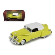Arko 1948 Lincoln Continental Yellow 1-32 Diecast Model Car (Dtdp945)