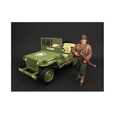 American Diorama 1 By 18 Scale Us Army Wwii Figure Ii (Dtdp2952)