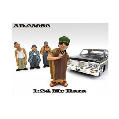 American Diorama Mr. Raza Homies Figure For 1-24 Scale Diecast Model Cars (Dtdp2107)