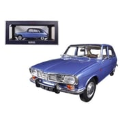 Norev 1968 Renault 16 Cobalt Blue Metallic 1-18 Diecast Model Car (Dtdp1320)