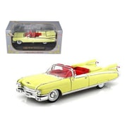 Signature Models 1959 Cadillac Eldorado Biarritz Yellow 1-32 Diecast Car Model (Dtdp932)