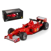 Hot Wheels Ferrari F1-2000 Michael Schumacher Japan Gp 2000 Elite Edition 1-43 Diecast Model Car (Dtdp2307)