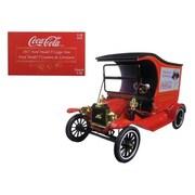 Motorcity Classics 1917 Ford Model T Cargo Van Coca-Cola Drink Delicious 1-18 Diecast Model Car (Dtdp2511)