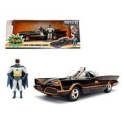 Jada 1 By 24 Scale Diecast 1966 Classic Tv Series Batmobile With Diecast Batman & Plastic Robin In The Car Model Car (Dtdp3083)