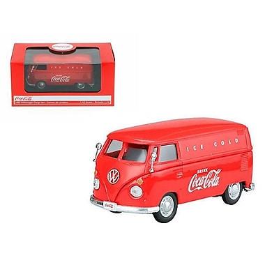 Motorcity Classics 1962 Volkswagen Coca Cola Cargo Van Red 1-43 Diecast Model (Dtdp2497)