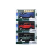 Cararama 1 By 43 Diecast Land Rover 109 Series Iii 3Pc Set Red,Blue,Green Model Cars (Dtdp3009)