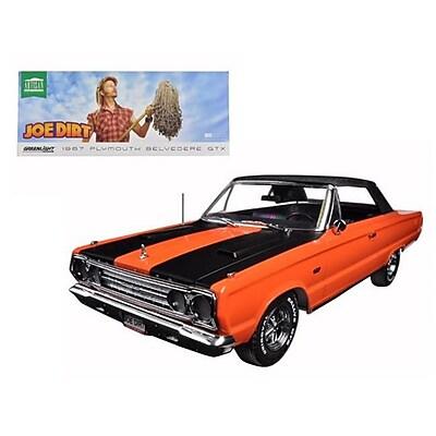 Greenlight 1967 Plymouth Belvedere Gtx Convertible Orange