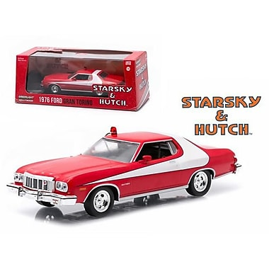 Greenlight 1976 Ford Gran Torino Starsky & Hutch Tv Series 1975-79 1-43 Diecast Model Car (Dtdp2147)