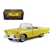 Arko 1955 Ford Thunderbird Convertible Yellow 1-32 Diecast Car Model (Dtdp929)