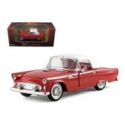 Arko 1955 Ford Thunderbird Hardtop Red 1-32 Diecast Car Model (Dtdp928)