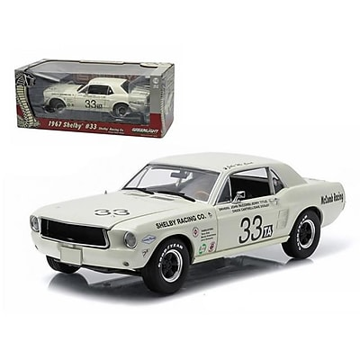 Greenlight 1967 Ford Shelby Mustang No.33 Shelby