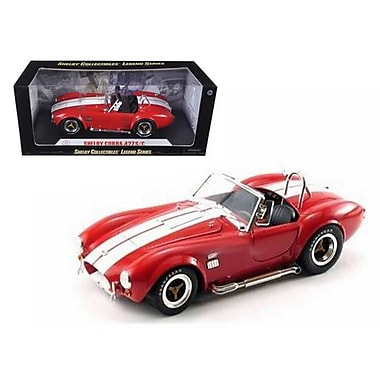 Shelby Collectibles 1965 Shelby Cobra 427 S & C Red 1-18 Diecast Model Car (Dtdp1037)