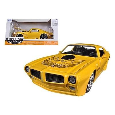 Jada 1972 Pontiac Firebird Trans Am Yellow