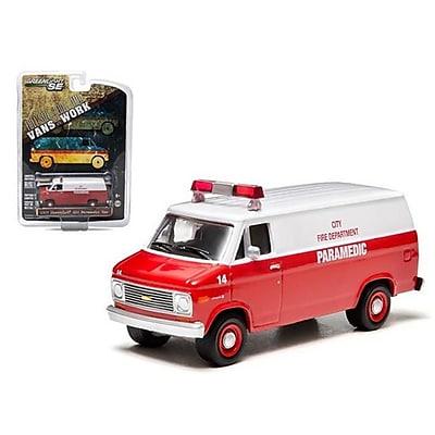 Greenlight 1977 Chevrolet G20 Van City Fire