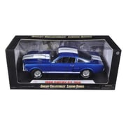 Shelby Collectibles 1966 Ford Shelby Mustang Gt 350 Blue 1-18 Diecast Model Car (Dtdp920)