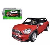Welly Mini Cooper S Paceman Red 1-24 Diecast Model Car (Dtdp1235)