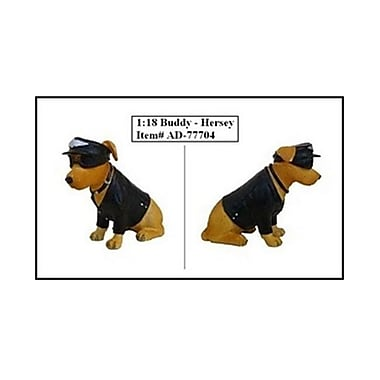 American Diorama Bikers Dog Buddy Hersey Figure For 1-18 Diecast Model Cars (Dtdp2417)