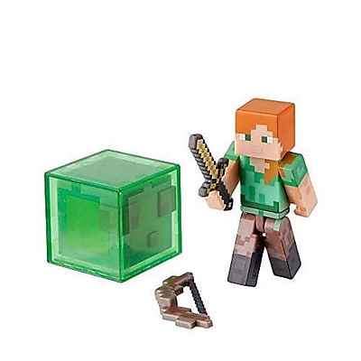 Zoofy International Minecraft Core Alex Action Figure With Accessory, 2.75 In. (Jnsn80038) 23982018