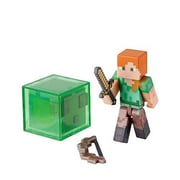Zoofy International Minecraft Core Alex Action Figure With Accessory, 2.75 In. (Jnsn80038)