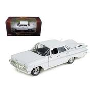 Arko 1959 Chevrolet Impala Sedan 4 Doors White 1-32 Diecast Car Model (Dtdp948)