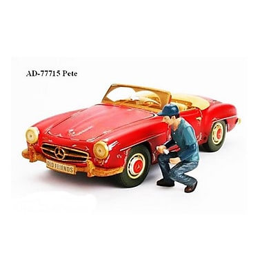 American Diorama Mechanic Pete Figure For 1-18 Diecast Models (Dtdp2418)