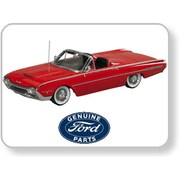 Motorhead Miniatures 1962 Ford Thunderbird Sport Roadster, Open - Ragoon Red (Mtrhm038)