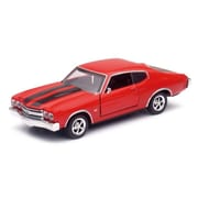 New-Ray Toys 1970 Chevrolet Chevelle Ss Car - Pack Of 12 (Nwrt045)