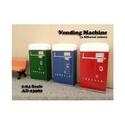 American Diorama 1 Piece Vending Machine Accessory Diorama Blue For 1-24 Scale Models (Dtdp2375)