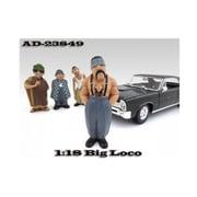 American Diorama Big Loco Homies Figure For 1-18 Diecast Model Cars (Dtdp2003)