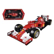 Hot Wheels 2014 Ferrari F1 F14 T Formula 1 F2014 Fernando Alonso 1-18 Diecast Car Model (Dtdp2321)