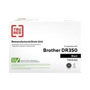 TRU RED™ Brother (DR-350) Black Remanufactured Drum Unit