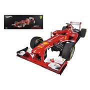 Hot Wheels Ferrari F1 F138 Fernando Alonso China Gp 2013 Elite Edition 1-18 Diecast Car Model (Dtdp2378)