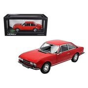 Norev 1971 Peugeot 504 Coupe Red 1-18 Diecast Car Model (Dtdp1308)