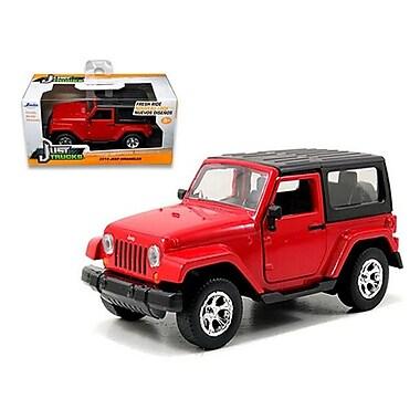 Jada 2014 Jeep Wrangler Red 1-32 Diecast Model Car (Dtdp1472)