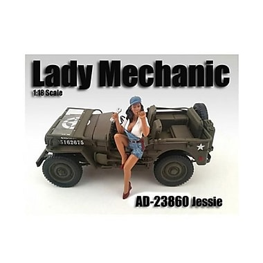 American Diorama Lady Mechanic Jessie Figure For 1-18 Scale Models (Dtdp2017)
