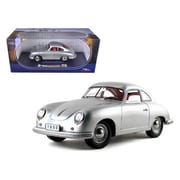 Signature Models 1950 Porsche 356 Coupe Silver 1-18 Diecast Model Car (Dtdp1021)