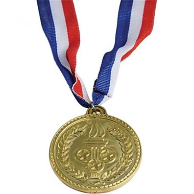 Us Toy Olympic Style Plastic Gold Medals - 12 Per Pack - Pack Of 8 (Ustcyc173181)