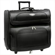 Travelers Choice Amsterdam Business Rolling Garment Bag In Black (Trvlc28)