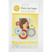Photo Cake Topper Frame- Sweet Dots Case Of 504 (Rtl122588)